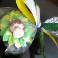 cupcake animais da selva