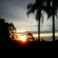 Pôr do Sol na Chácara
