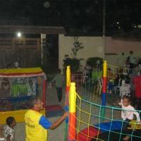 área dos brinquedos