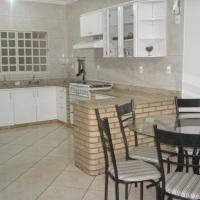 Cozinha interna acomodação