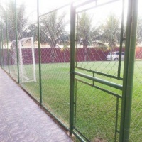 Mini campo de futebol gramado