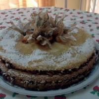 Naked Cake de Ameixa com doce de leite