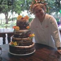 Naked Cake Chocolate&Caramelo