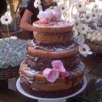Naked Cake Chocolate&Salted Caramel
