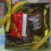 Chocolate dois corações 200gr