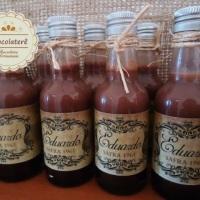 Garrafinhas Licor de Chocolate - Lembrancinha