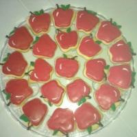 Biscoito decorado maçã