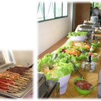 Buffet de Saladas... Espetinhos no Rechaud, tudo para o seu evento ficar glamouroso!