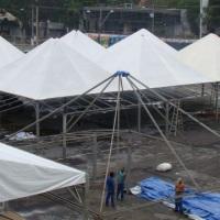 Montagem Tenda 10m x 10m