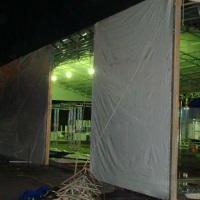 Fechamento lateral para todas dimenções de Tendas.