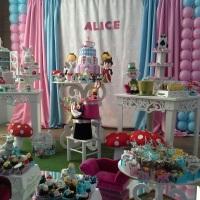 Decoração da Alice no Pais das Maravilhas