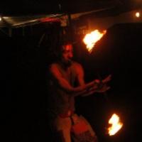 Malabares com fogo