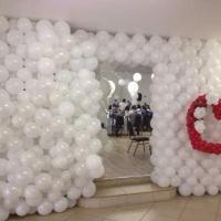 Quem disse que balão não combina com casamento?   #temqueterbaloes #baloesparatodasocasioes  #S