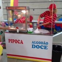 Barraca de Pipoca e Algodão doce (Elétrico)