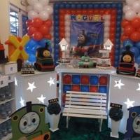 Decoração Clean do Thomas e seus Amigos