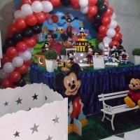 Decoração tradicional Mickey estilo Clean