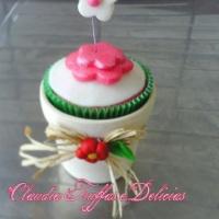 Cupcake para o dia das mães
