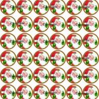 Papai Noel para Alfajor, pão de mel e bombom