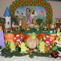 decoração de tema infantil.