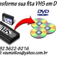 Tranformação de VHS para DVD