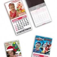Imãs calendários