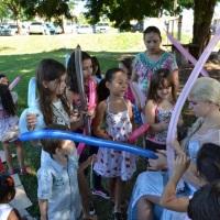 Oficina de Escultura em Balões com as crianças1