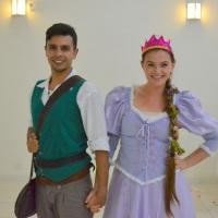 Leve a Rapunzel e o Flynn para a sua festa!