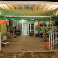 Decoração inauguração Pet Shop em Palete e Toldo - Local Recife PE.
