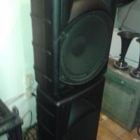 caixa de sonorização