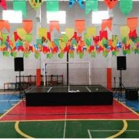 Evento na quadra da escola Educallis em São Luis - MA