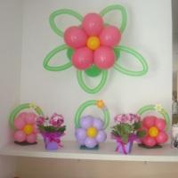 flor de parede / enfeites para mesa /aparador/ balcões