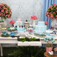 Festa Completa - Decoração, buffet, bolo, doces, flores - Adulto 18 e 80 anos