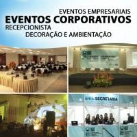 EVENTOS CORPORATIVOS AÇÃO PROMOCIONAL RECEPCIONISTAS