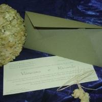 Convite de Casamento - Agatha