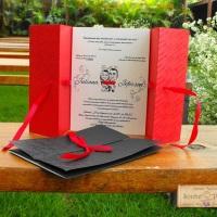 Convite de Casamento Avalon