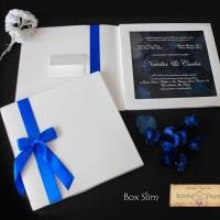 Convite de Casamento Box Slim