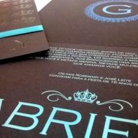 Convite 15 anos Camille
