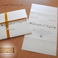 Convite de Casamento Dillan esse