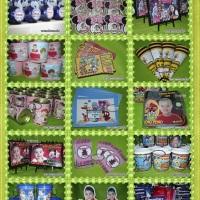 Lembrancinhas personalizadas, água mineral, canecas, totem de mesa, totem de chão, kit pipoca, kit p