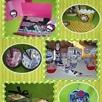 tudo personalizados monster high, abelinhas, mickey, minnie, vingadores, peppa, frozen, batman, supe