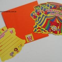 Convites Tendinha - Festa no Circo