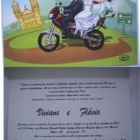 Convite caricatura