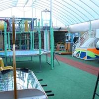 Dispomos de  uma área incrível para a diversão de nossos pequenos, com profissionais capacitados par