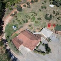 Foto aérea do cliente Sítio dos Palmitos, localizado em Pedra Azul.