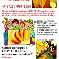 Panfleto festival de crepe