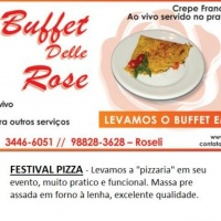 Crepe ao vivo e Festival Pizza