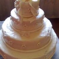 falso bolo de casamento