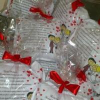 Almofadinhas Personalizadas para Casamento