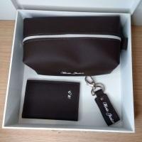 Gift: Necessaire personalizada, Carteira personalizada e Chaveiro personalizado