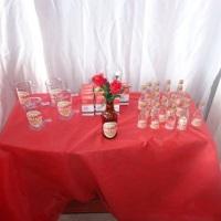 Festa de boteco: Garrafinhas com cachaça, Caneca de shop e Kit ressaca.